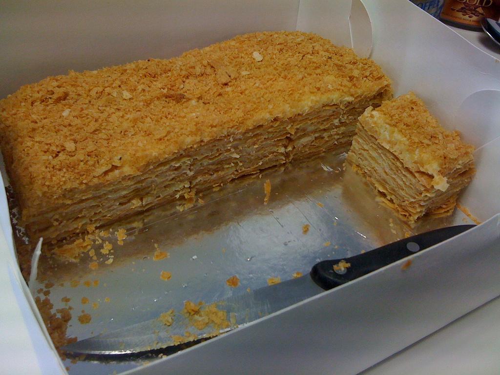 Russische Napoleon Torte Rezept