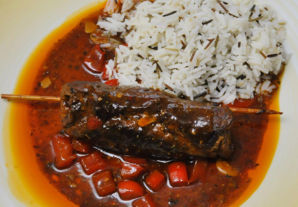 Sommerküche Wiki : Rindfleisch basilikum rouladen mit paprika u koch wiki