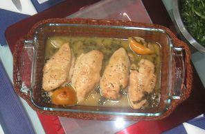 Hühnerbrustfilet in Zitronen-Weißweinsauce – Koch-Wiki