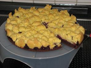 Schoko Kirsch Streusel Kuchen Koch Wiki