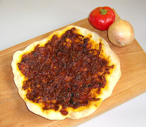 Sizilianische Pizza