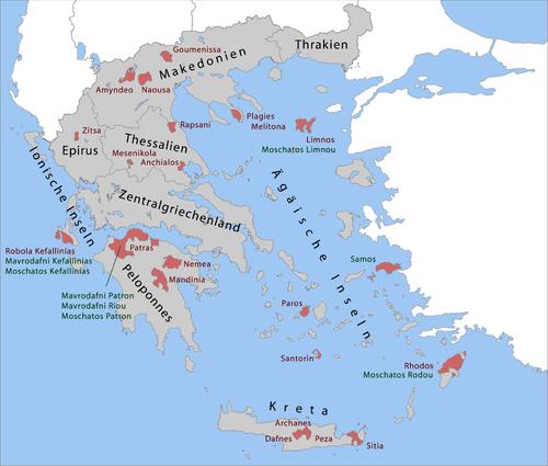 Griechenland Karte Kreta.Kategorie Weinanbaugebiet In Griechenland Koch Wiki